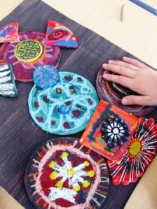 3D and Sculptures | Art Lessons For Kids. Wooden assemblage