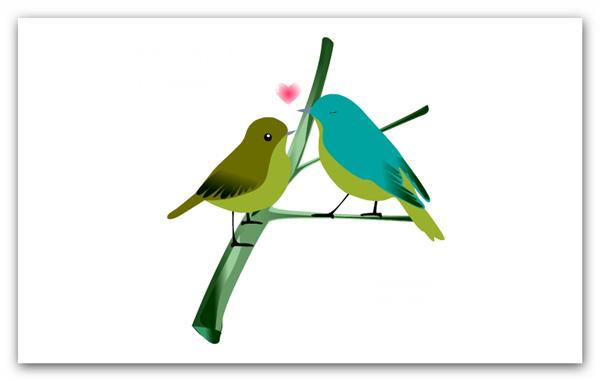 Love Bird Template Hd Bird Template Bird Love Birds