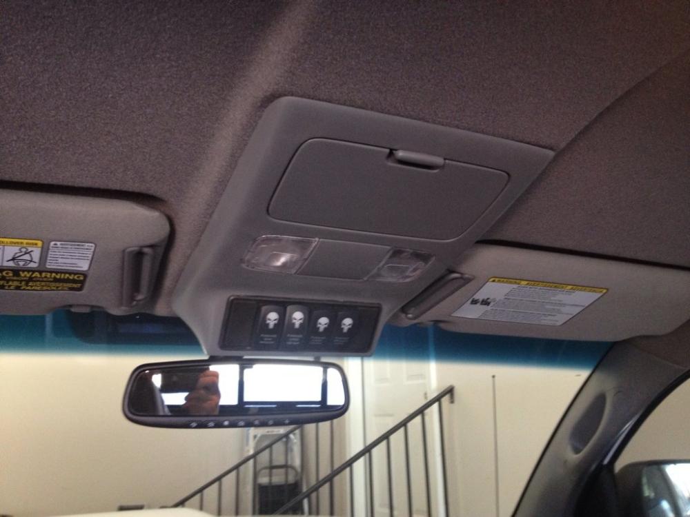Overhead Console Custom Switch Panel Toyota Tacoma Interior Tacoma Truck Toyota Tacoma Mods