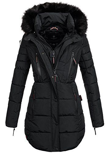 Damen Winter Jacke Winterjacke Parka Stepp Mantel