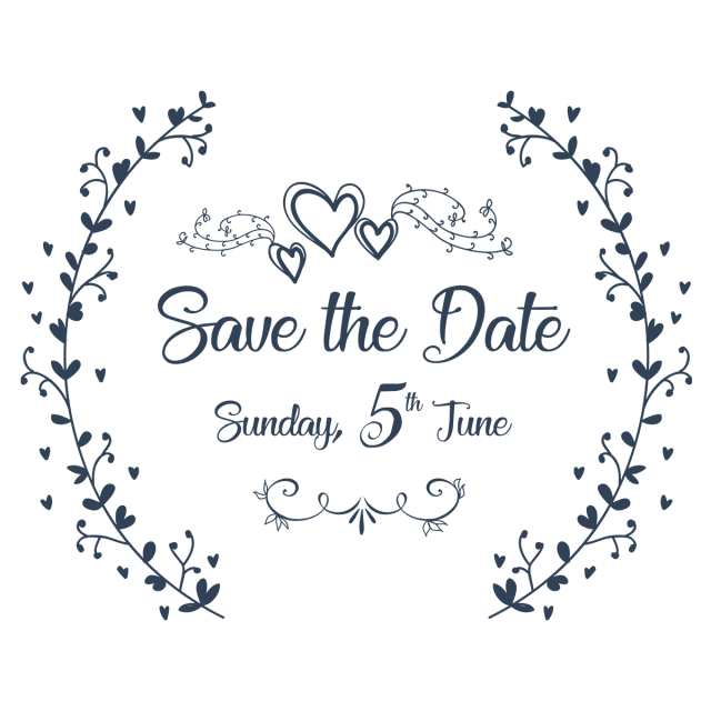 Save The Date Invitation Ornaments Save The Date