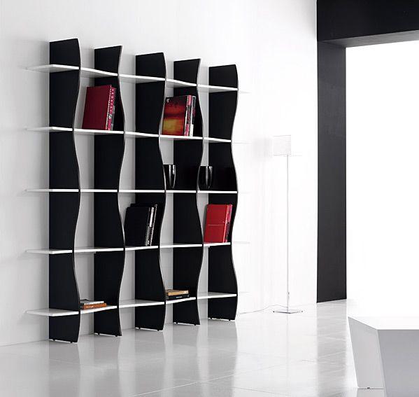 estanteria moderna sheri material dm densidad media mueble realizado en madera de dm existe - Estanteria Moderna