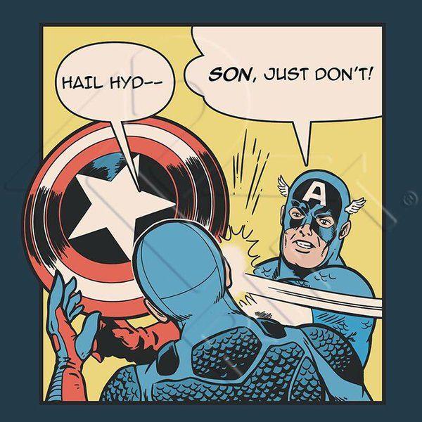 #SayNoToHYDRACap - I like how it's old cap hitting new cap