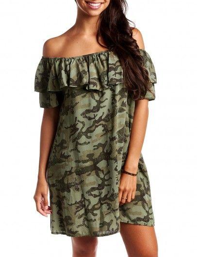 Tuniek Camo - leuke tunieken - leuke jurken