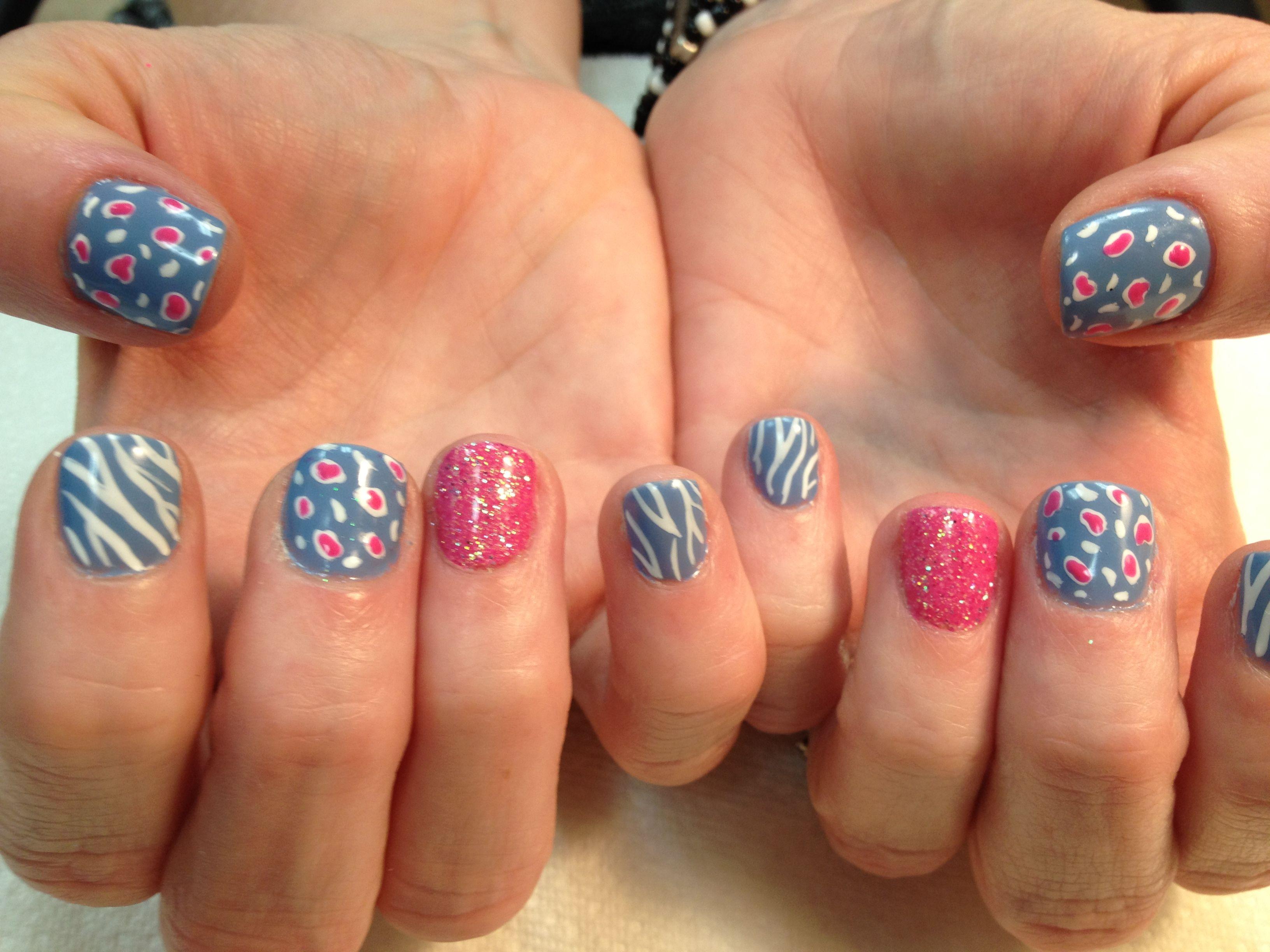 Gel polish and nail art