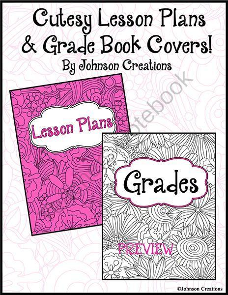 Book Cover Art Lesson ~ Cutesy lesson plans grade book covers art classroom