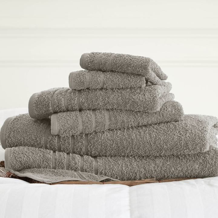 Kohls Bath Towels Awesome Kohl's Spa Collection 6Pcsolid Bath Towel Set  Bath Towel Sets Decorating Inspiration
