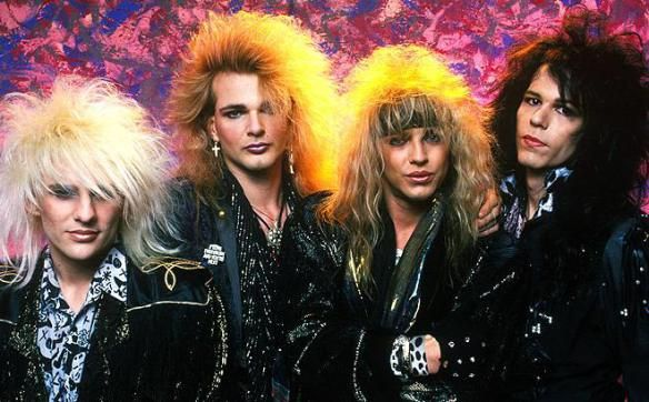 ROCK WITH ME: Glam Metal (músca de pelo largo)
