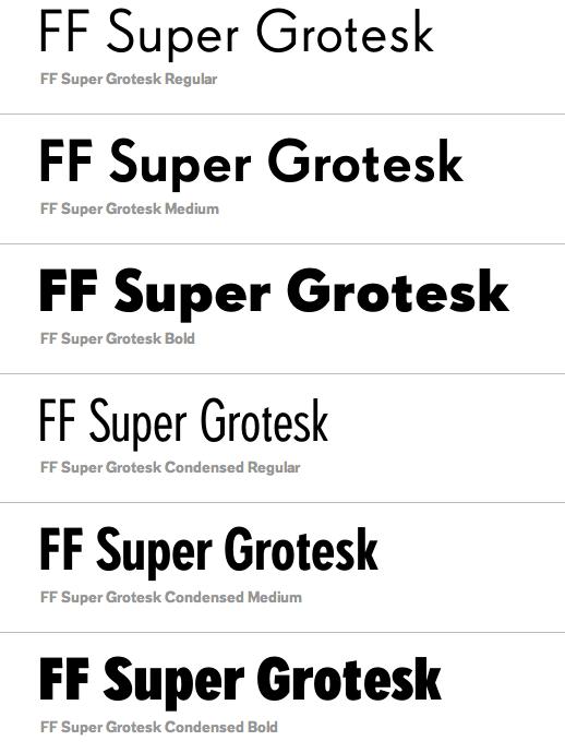 FF Super Grotesk   fonts   Fonts, Professional fonts, Typography