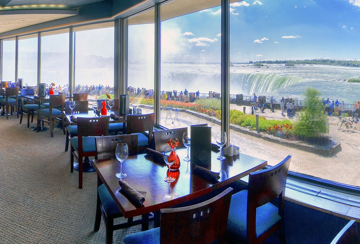 Hilton Niagara Falls Fallsview  Photo Gallery Pranzo Italian Captivating Skylon Revolving Dining Room Decorating Inspiration