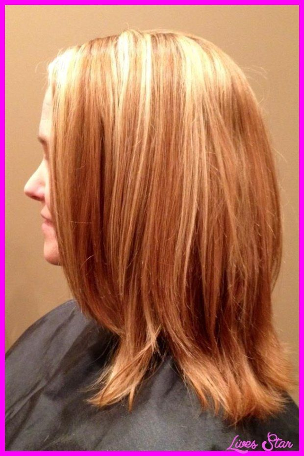 Awesome Strawberry Blonde Highlights In Brown Hair Lives Star