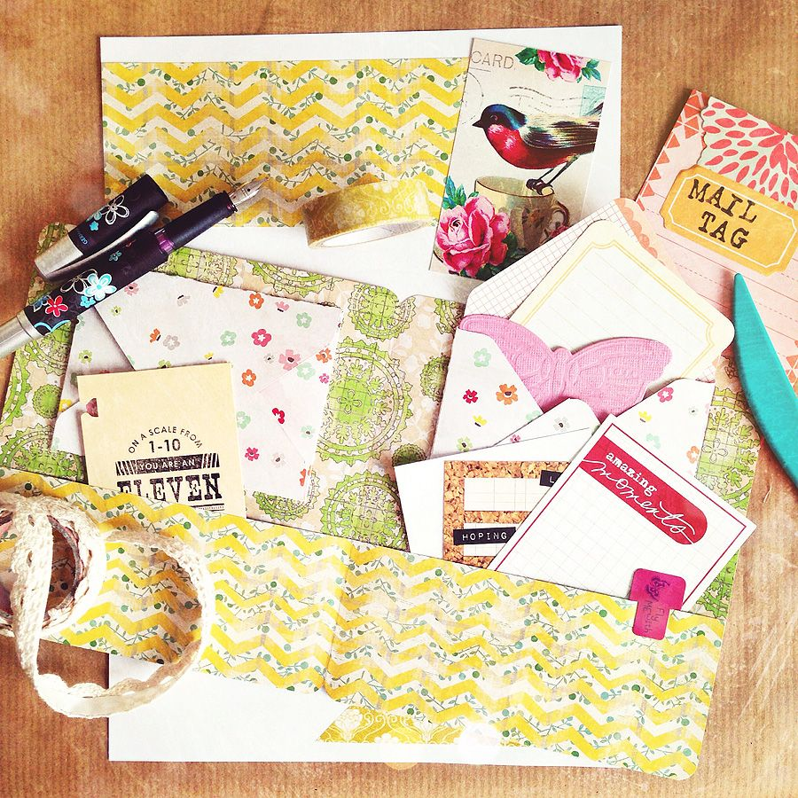 Old Passion rediscovered … the joy of creative snailmail