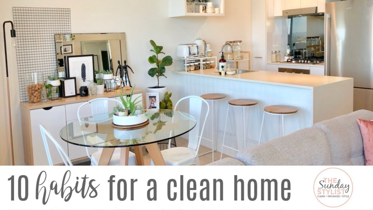 10 TIPS FOR A CLEAN AND TIDY HOME