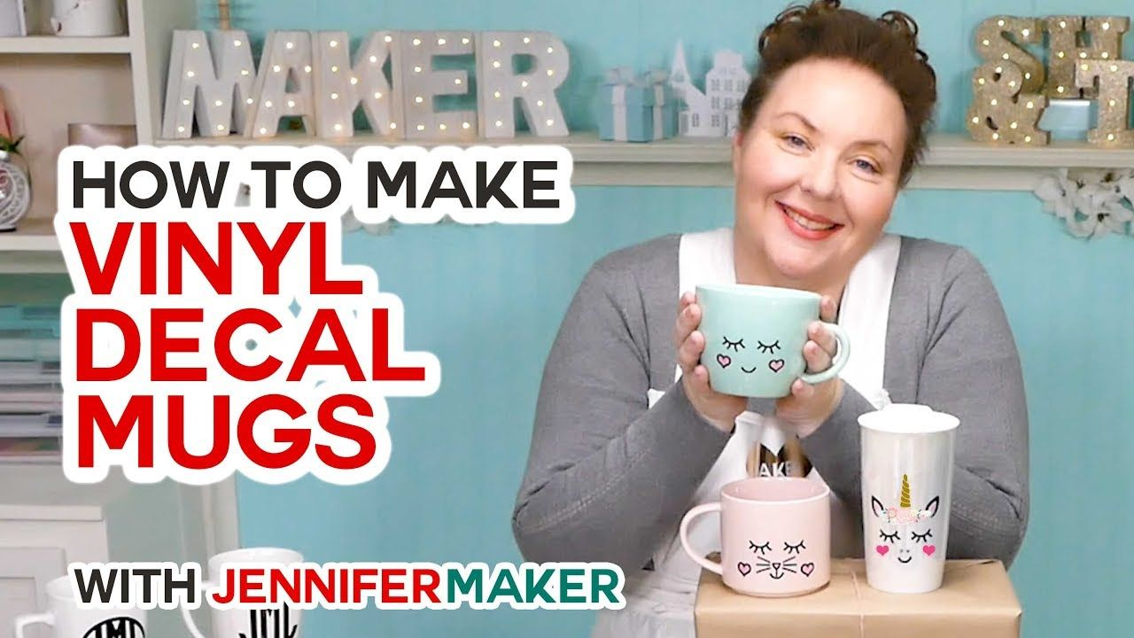 How to Put Vinyl on Mugs + Vinyl Test & Cute Designs
