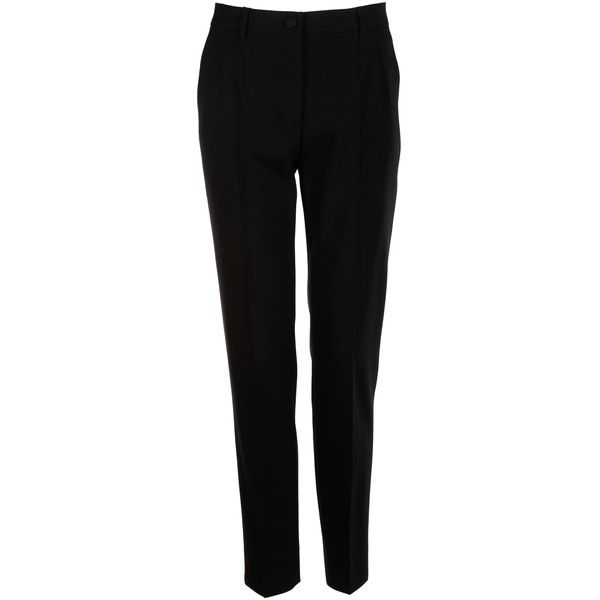 pleated trousers - Black Dolce & Gabbana HamDqgNa