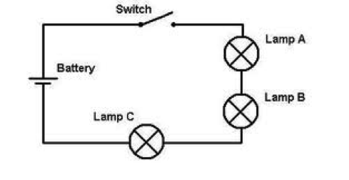 Series Circuit Schematic Diagram Wiring Library Insweb