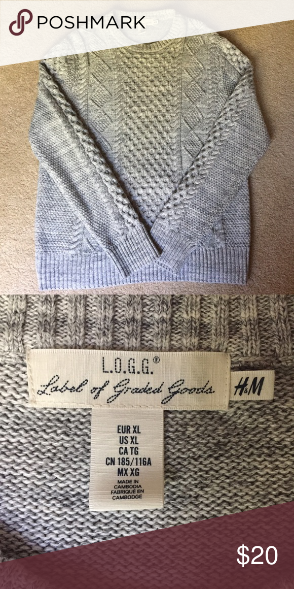 🌸NWOT H&M Sweater NWOT, never worn H&M sweater. Size XL. H&M Sweaters Crewneck