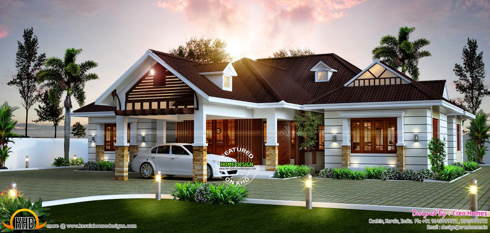 Small Home Plans Kerala Model Best Of Modern House Plans Single Story Spanish Style Traditional W Kerala House Design Spanish Style Homes Courtyard House Plans