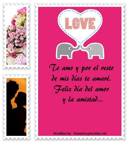 Tiernos pensamientos con imágenes para compartir con tu novio el 14 de  febrero,poemas muy tiernos para enviarle a tu novio por el día de los  enamorados ...