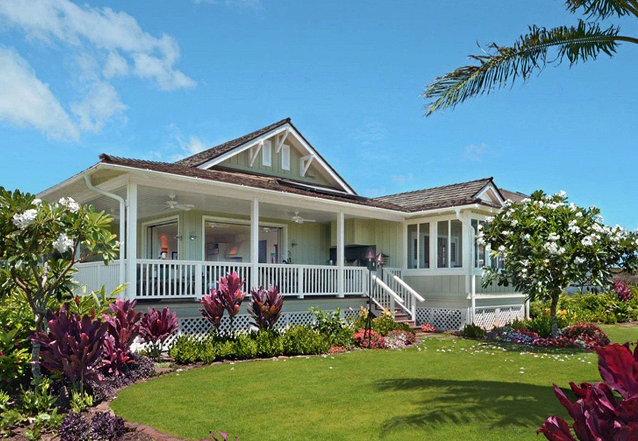 Cottages At Kukui Ula Poipu Kauai Hawaii Oz Architects Cottage Poipu Beautiful Homes