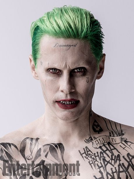 'Suicide Squad': Meet the Roster of Rogues | The Joker (Jared Leto) | EW.com