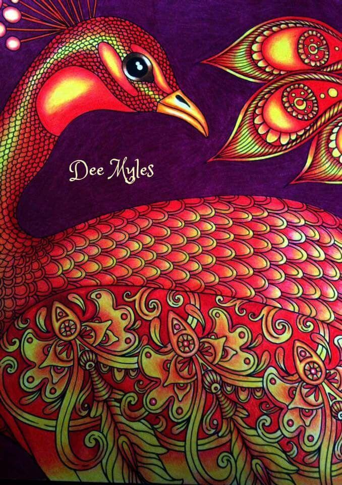 Pin De Coloring Queen Em Colouring Book Livro De Colorir Pavoes Colorir