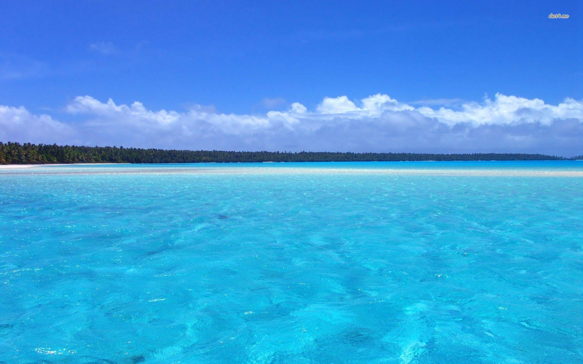Clear Blue Ocean Cute Wallpaper Hd Wallpaper Ocean Landscape Ocean Pictures Ocean Wallpaper