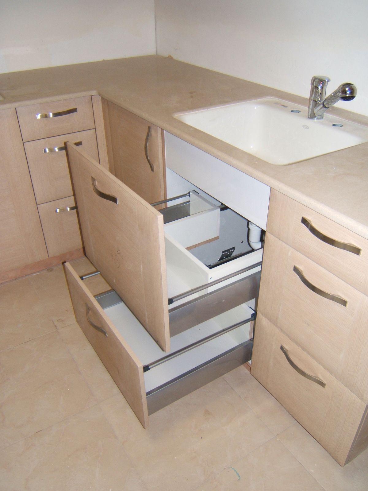 מעולה מגירות מתחת לכיור | מטבח in 2019 | Home Decor, Home, Corner desk LO-99