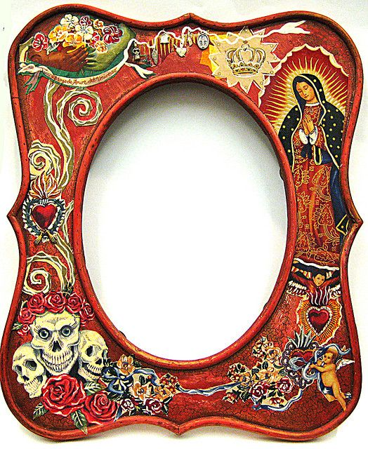Icons Of Mexico Mirror Latin Persuasion Day Of The Dead