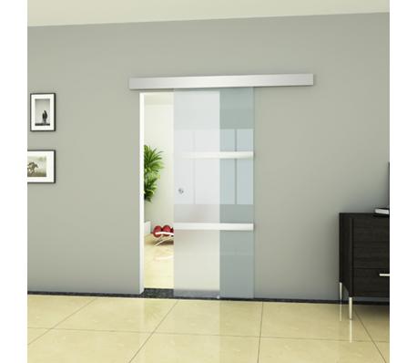 Glazen schuifdeur 205 x 75 cm. - Aanbouw | Pinterest - Glazen ...