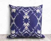 Tie Dye Pillow Cover, Pillow Cover, Pillow Case, Linen Pillow Cover 18x18 - Printed Tie Dye - 231