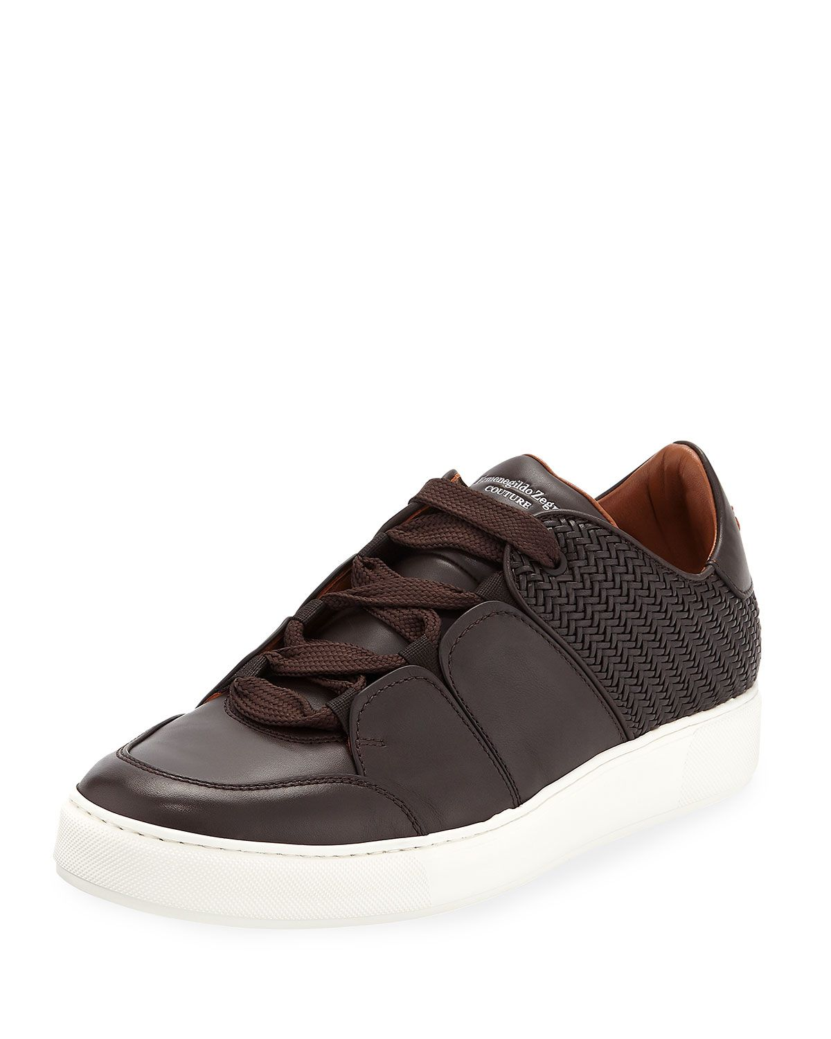 471ce4fe96c Men's Tiziano Leather Low-Top Sneakers in 2019 | MEN'S FOOTWEAR ...
