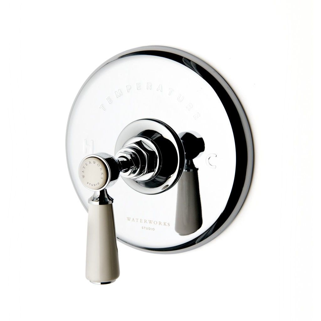 Highgate Lever Thermostatic Shower Valve   Fittings & Faucets ...