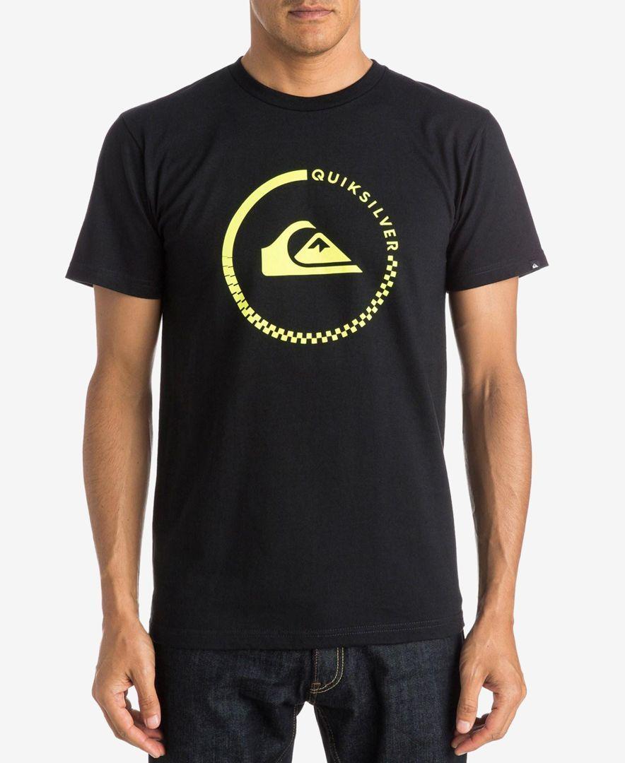 Quiksilver Men's Everyday Active Graphic-Print Logo T-Shirt