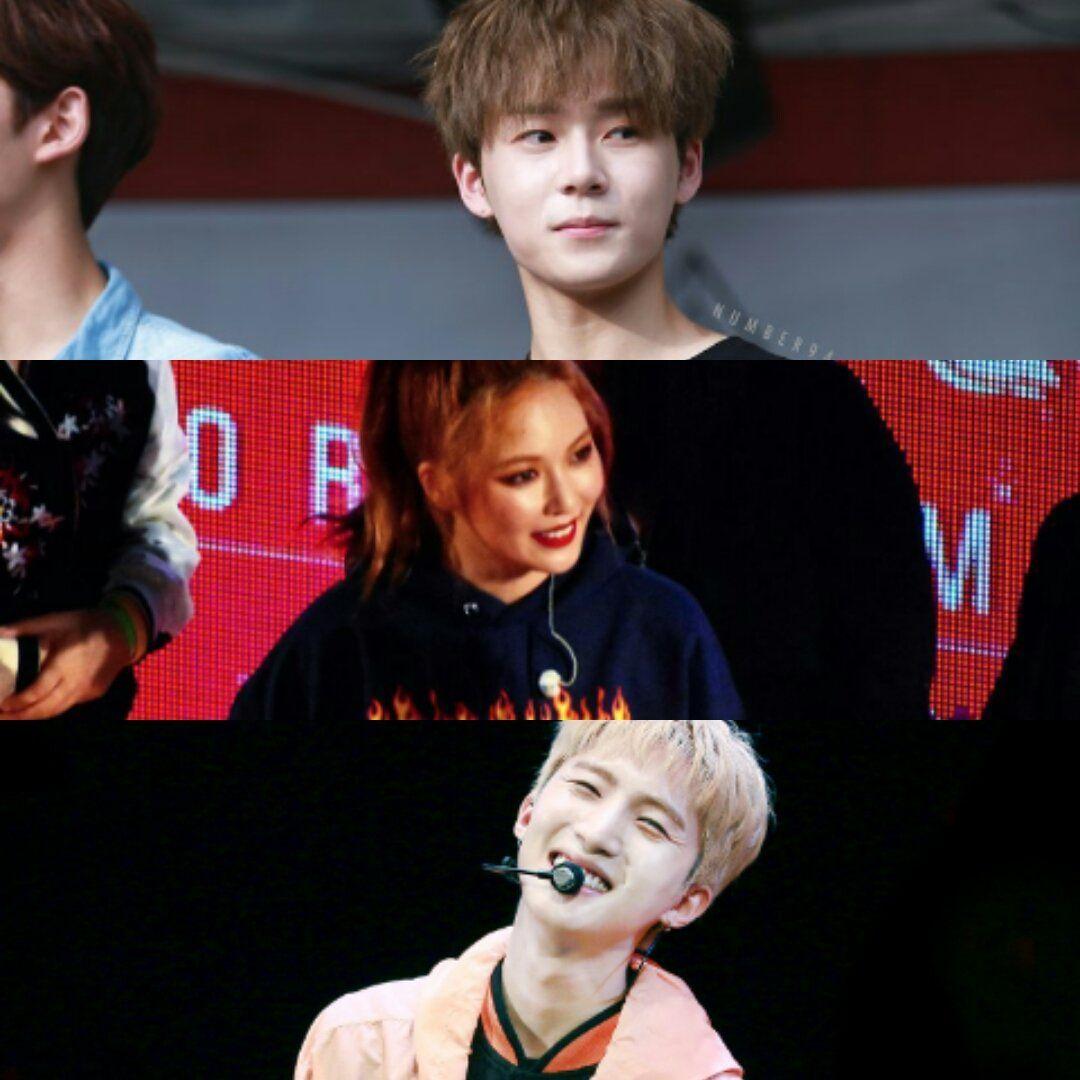Cube vai debutar uma nova unit com Hyuna, Hui e EDawn do Pentagon em maio! Ainda não há nome pro gupo...
