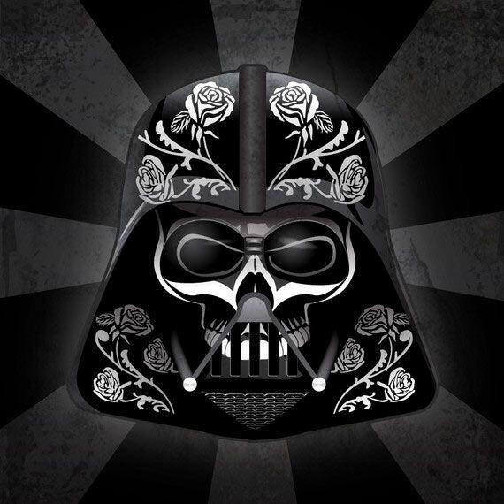 Darth Vader - Día de los Muertos