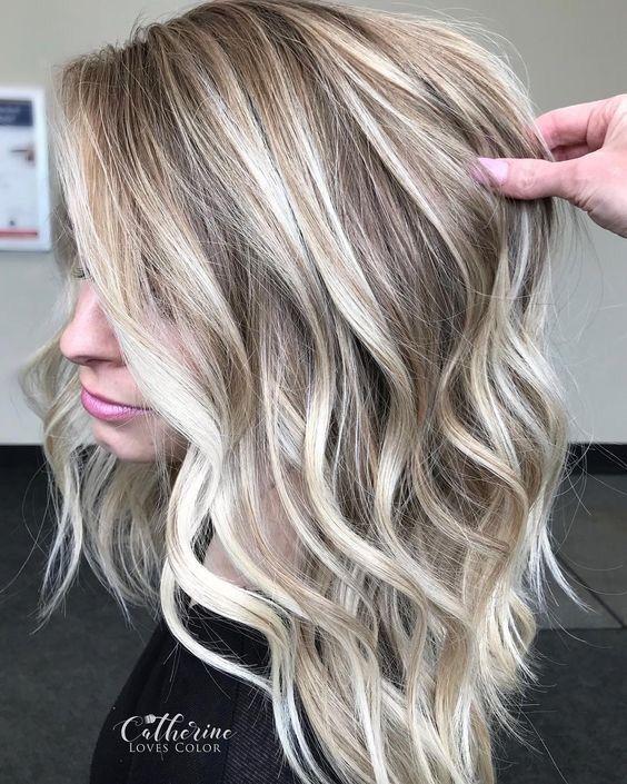 20 Schone Frisuren Fur Balayage Balayage Haare Blond Coole Blonde Haare Styling Kurzes Haar