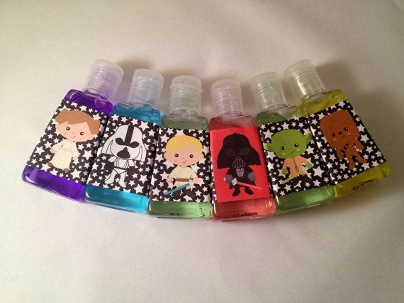 Star Wars Inspired Party Favors Star Wars Inspired Hand Sanitizer