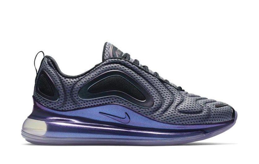 size 40 4e474 db45b Nike Air Max 720 Black Metallic Silver AO2924-001 Release Date