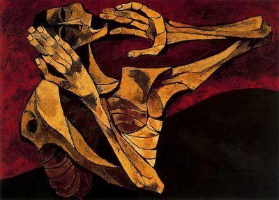 Rios de Sangre Nº 1 by Oswaldo Guayasamin