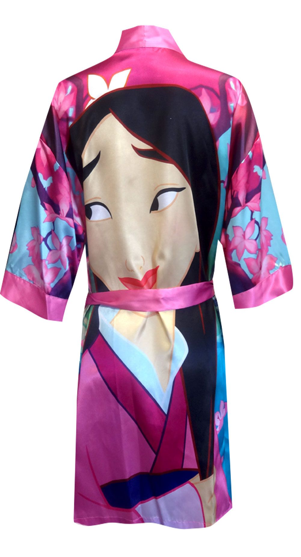 ac36cd3c43 Disney Mulan Satin Robe Beautiful and special! This gorgeous satin robe for  ladies features Mulan