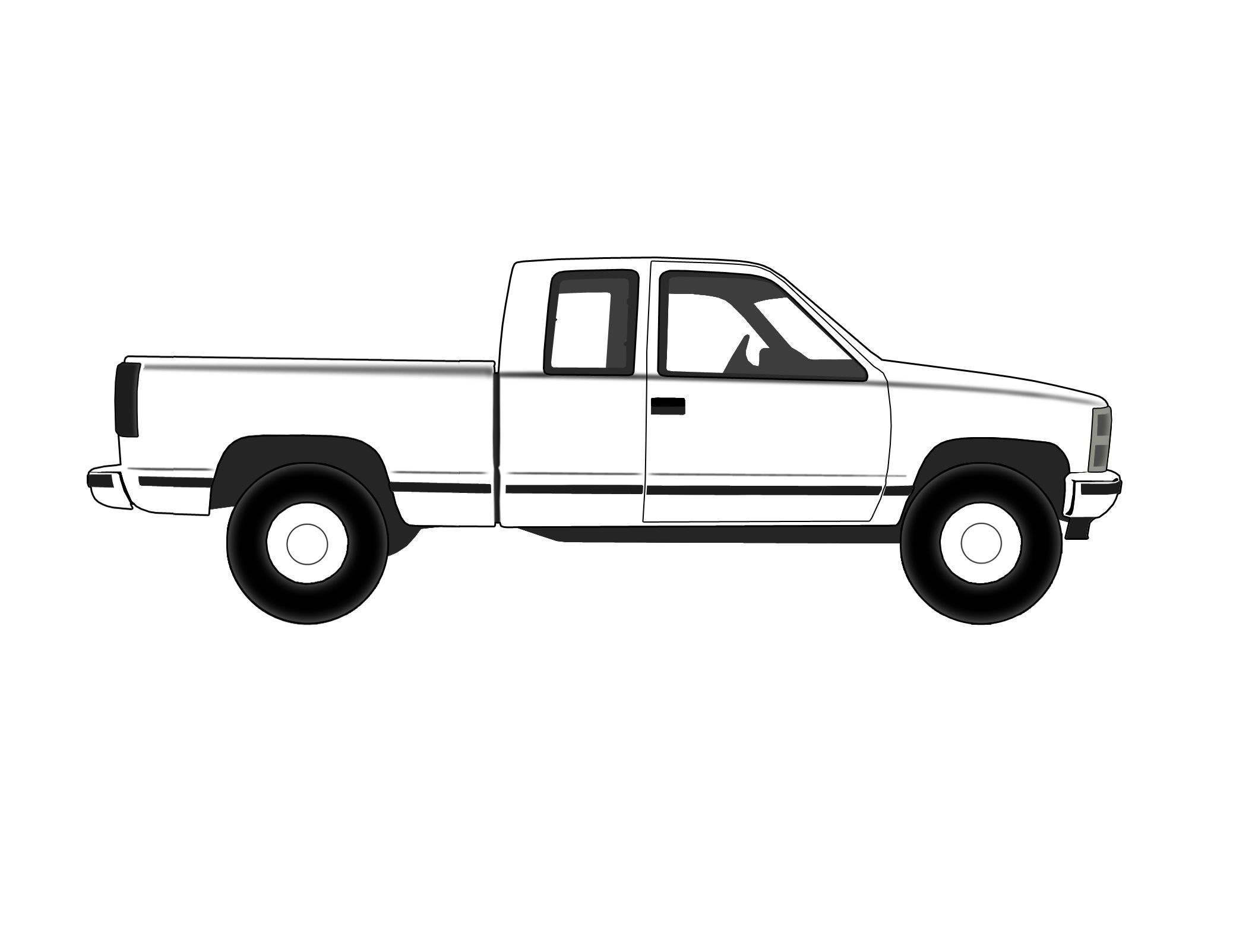 chevy 4x4 decals