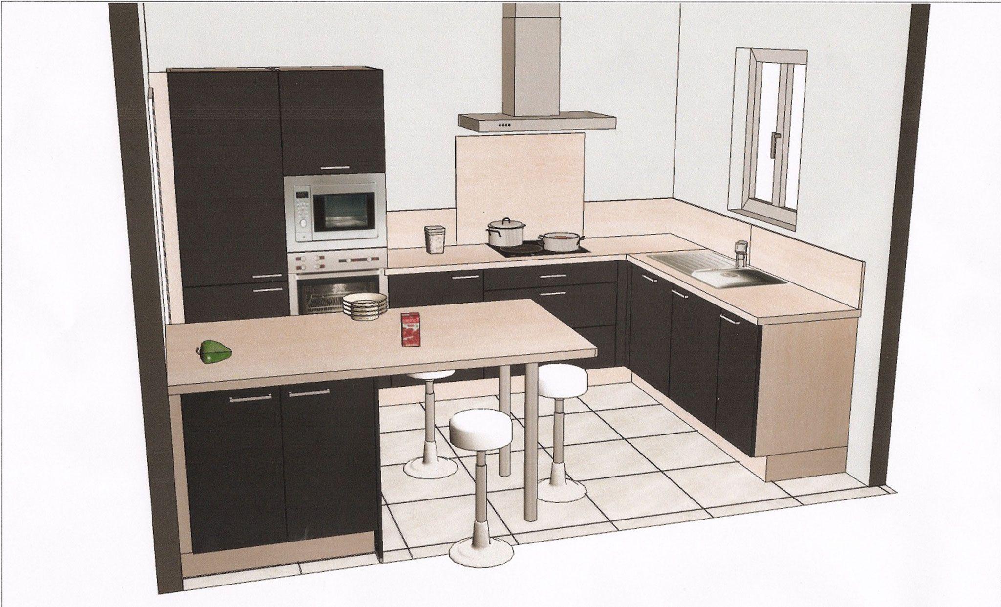 Plans Cuisine Plan De Cuisine Pas Cher Sur Cuisinelareduccom - Plan de cuisine en u