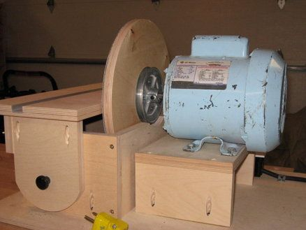 Home made Disc Sander - better start looking for an old motor!