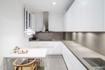 PISO EN EL ENSANCHE - Contemporáneo - Cocina - other metro - de DS Architecture and Design