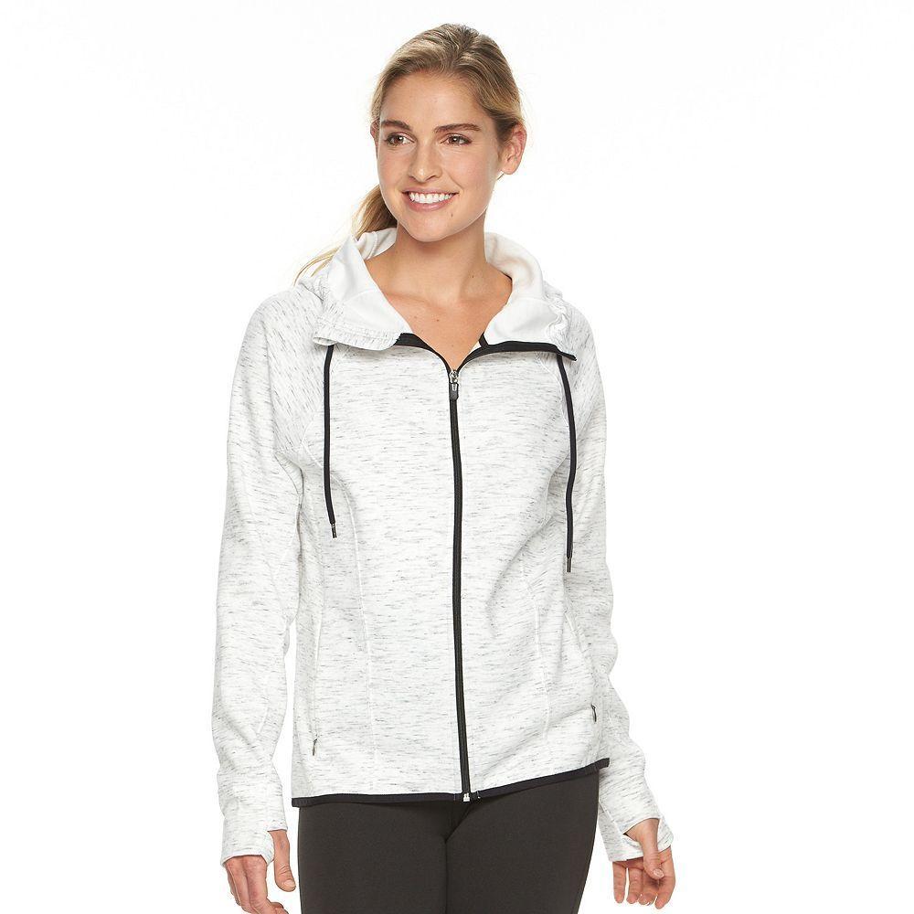 Petite Tek Gear® HighLow Fleece Hoodie Fleece hoodie