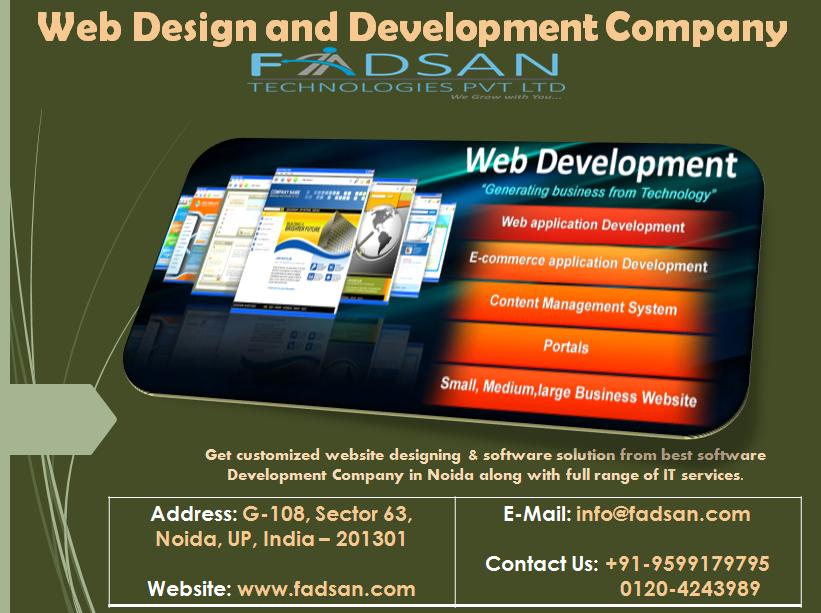 Web Design And Development Company In Noida Web Development Design Software Development Web Development Company