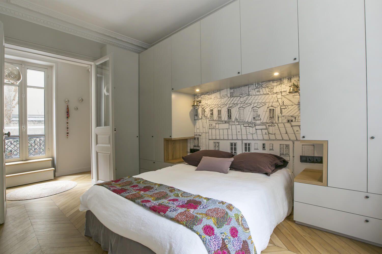 cristina velani batignolles bedroom en 2019 armarios habitacion habitaciones de lujo et. Black Bedroom Furniture Sets. Home Design Ideas