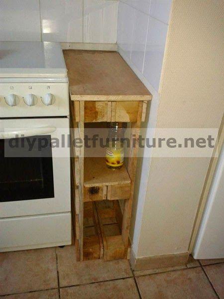 Tarimas recicladas mesas buscar con google muebles y - Tarima para cocina ...