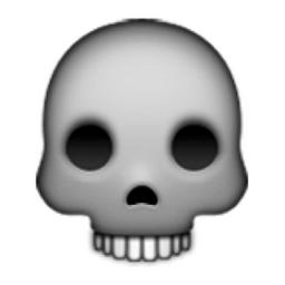 Skull Emoji U 1f480 U E11c Emoji Emoji Tumblr Png Emoji Quiz